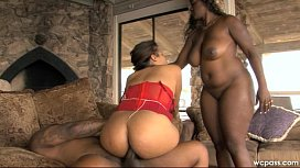 Cheating With TWO Black Asses