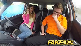 Fake Driving School creampie teen ebony threesome milf big tits compilation clip