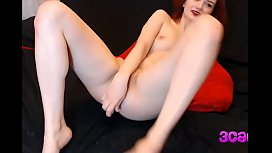 Slut destroys her asshole with huge 24 inch dildo and fists herself - 3cams.net