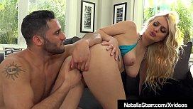 Blonde Babe Natalia Starr Splashed With Water Gun &amp_ Warm Cum