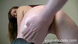 Cute MILF gets fucked doggystyle