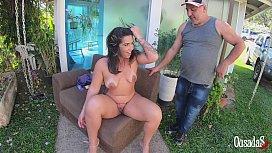Victoria Dias chega ao local da gravação para mostrar do que é capaz - Tony Tigrao - Big Bambu - Sandro Lima - Binho Ted