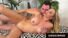 Big Tits Mature Blonde Claudia Valentine Bounces on a Hard Cock