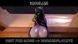 Widowmaker get a hard anal fuck with a Huge Dick &ndash_ Best compilation hight quality 3D Porn 2019