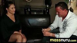 Babe Fires Nuru Massage 19