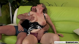 Big Titted GILF Aliz B rides that dick like a pro