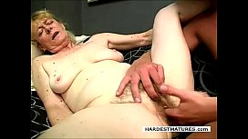 Jeff Fucked by hairy 70 plus granny slut