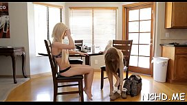 Hot legal age teenager girls expose their ideal bodies for the casting
