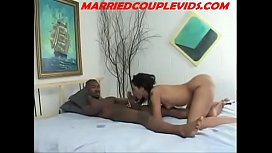 ASIAN WITH CHAIN FUCKED SUPER HARD ON BED--MARRIEDCOUPLEVIDS.COM