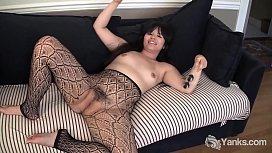 Yanks Asian Hermine Haller Masturbates