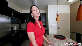 My busty mature stepmom offers pussy exchange shopping