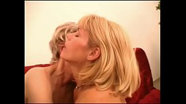 Horny blond MILF gets her wet juicy licked and toy in her ass