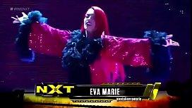 Eva Marie vs Carmella. NXT.