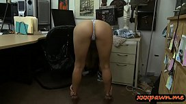 Tight babe rammed by pervert pawn dude