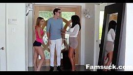 College Bro Cums Home To Horny Sis  FamSuck.com