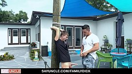 FamilyDick -  Nephew Gets Tied Up And Fucked By Step-Uncle