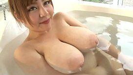 JAV - Big Tist Japan:Ran niyama with bath soap