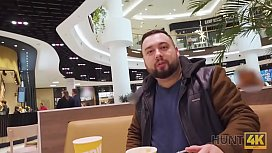 HUNT4K. I bought slutty wife in the mall and fucked in the restroom