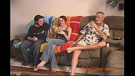 2 old lesbians and man porn