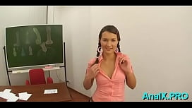 Prodigious young russian gal Addison blowing well
