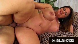 Golden Slut - Brunette Mature Beauty Leylani Wood Compilation Part 5