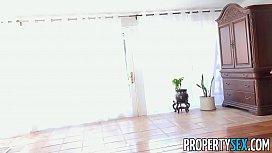 PropertySex - Hot blonde landlady fucks talented tenant
