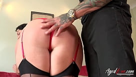 AgedLovE Hot Mature Lady Blowjob and Licking