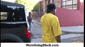 Horny hot Mom getting fucked by black monster 15