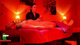 This is a massage session with a very happy ending ADR0128