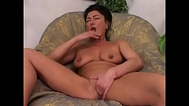 Pretty and hot milf'_s onanism # 6