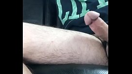 Taking care of his Hairy Shaft