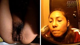 Toilet Cam HD: Hairy Asian