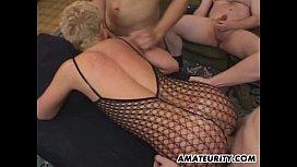 Porn movie mature seduced young