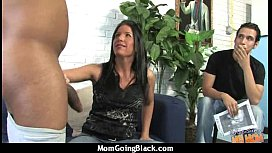 Hot Wild Mom with Big Tits gets Pounded by Black Cock 13