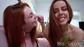 Double Trouble For Lucky Brother- Lacy Lennon And Vanna BArdot