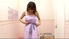 Cute Innocence looking japanese babe spied buying new bra