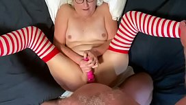 Hot Mature Milf Gets Fucked Anally POV Style Takes Big Facial