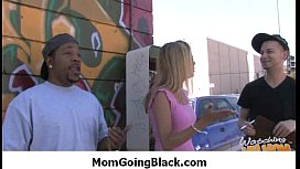 MILF mommy rides black dong 33