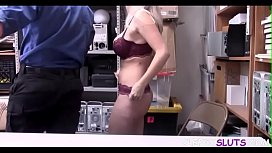BLONDIE forced to FUCK for her SINS- JAILER