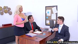 Brazzers - Big Tits at Work - The Deal Breaker scene starring Olivia Fox and Bruce Venture