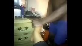 Ebony foot job