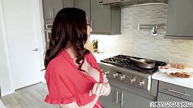 Ariella Ferrera is the best stepmom you wanted to be with.She gave her lucky stepson a hot sloppy blowjob and swallow his creamy jizz for breakfast.