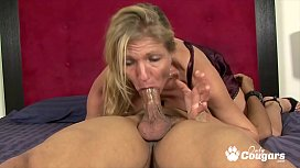 Violet Gags On Some Cock &amp_ Balls