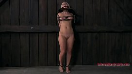 Busty beauty likes getting extreme pussy torture