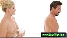 India Summer &amp_ Tommy Gunn prepared for nuru massage