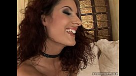 Sexy bitch Leanna Sweet fucks in different positions