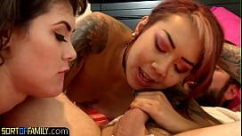 Horny stepdaughter craves stepdads dick