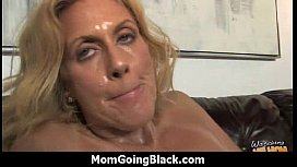 Huge Black Meat Going into Horny Mom 8