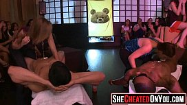 35 Massive  Horny party milfs fuck at club orgy23