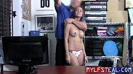 MILF Cries While Cop f. Fucks Her- Havana Bleu
